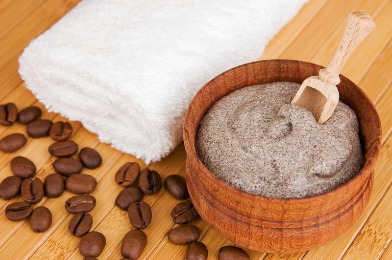 Скраб для тела на основе кофе